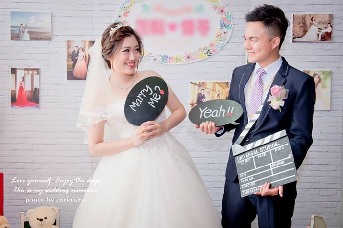 My Wedding|采伶Cherry新娘秘書/造型師推薦。貼心手作花圈完成新娘公主心